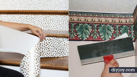 34 Wallpaper Tips and Tricks | DIY Joy Projects and Crafts Ideas