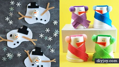35 Winter Crafts for Kids | DIY Joy Projects and Crafts Ideas