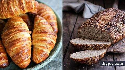 35 Breakfast Bread Recipes To Start The Morning With | DIY Joy Projects and Crafts Ideas