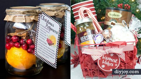 50 Best DIY Christmas Gifts You Can Give This Year | DIY Joy Projects and Crafts Ideas