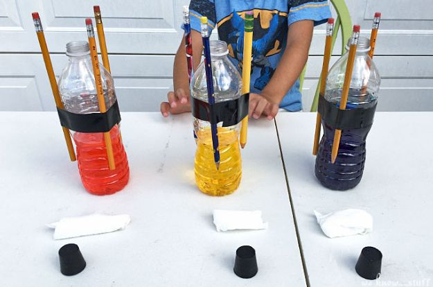 Easy Crafts for Kids - Baking Soda Rockets For Kids - Quick DIY Ideas for Children - Boys and Girls Love These Cool Craft Projects - Indoor and Outdoor Fun at Home - Cheap Playtime Activities https://diyjoy.com/best-easy-crafts-for-kids