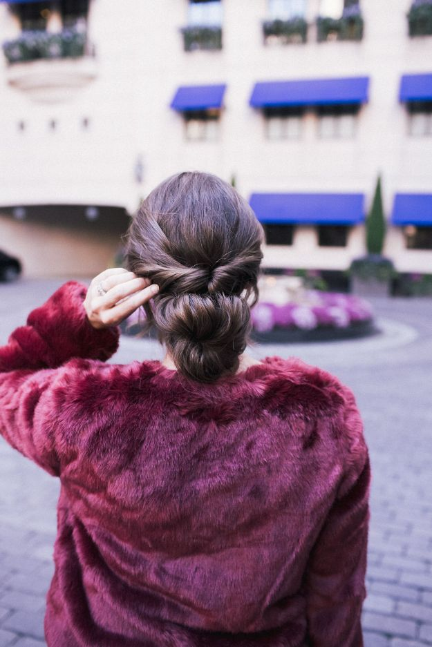 Holiday Hairstyles - Classic and Easy Up-Do - Cute DIY Hair Styles for Christmas and New Years Eve, Special Occasion - Updos, Braids, Buns, Ponytails, Half Up Half Down Looks #hairstyles
