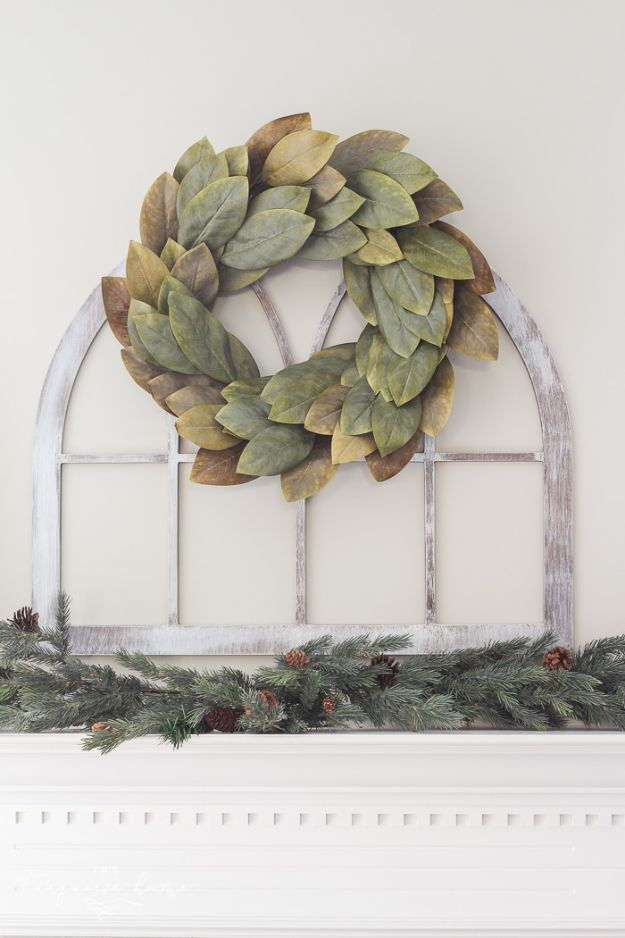 Magnolia Homes Decor Ideas - DIY Fixer Upper Cathedral Window Frame - DIY Decor Inspired by Chip and Joanna Gaines - Fixer Upper Dining Room, Coffee Tables, Light Fixtures for Your House - Do It Yourself Decorating On A Budget With Farmhouse Style Decorations for the Home http://diyjoy.com/magnolia-homes-decor-ideas