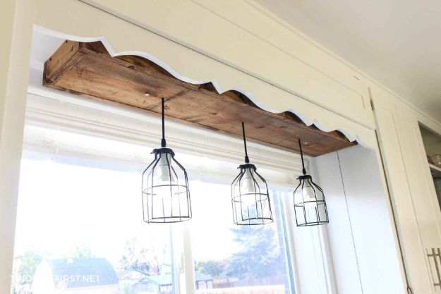 Magnolia Homes Decor Ideas - DIY Industrial Pendant Light - DIY Decor Inspired by Chip and Joanna Gaines - Fixer Upper Dining Room, Coffee Tables, Light Fixtures for Your House - Do It Yourself Decorating On A Budget With Farmhouse Style Decorations for the Home