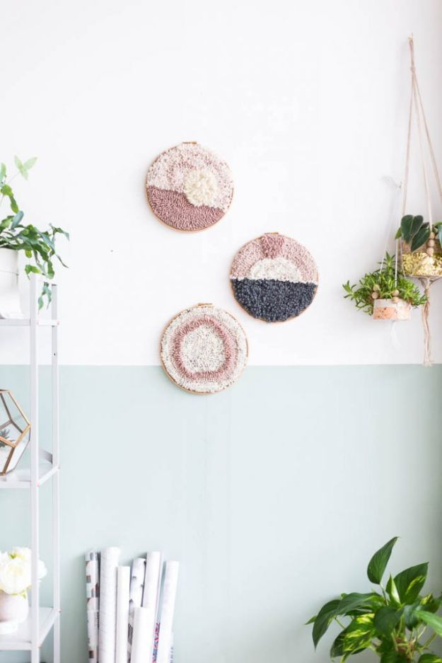 DIY Home Decor Projects for Beginners - DIY Punch Rug Artwork for Beginners - Easy Homemade Decoration for Your House or Apartment - Creative Wall Art, Rugs, Furniture and Accessories for Kitchen - Quick and Cheap Ways to Decorate on A Budget - Farmhouse, Rustic, Modern, Boho and Minimalist Style With Step by Step Tutorials #diy