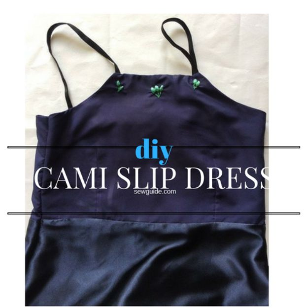DIY Nightgowns and Sleepwear - DIY Slip Night Gown - Easy Sewing Projects for Cute Nightshirts, Tshirts, Gowns and Pajamas - Free Patterns and Step by Step Tutorials https://diyjoy.com/diy-nightgowns-sleepwear