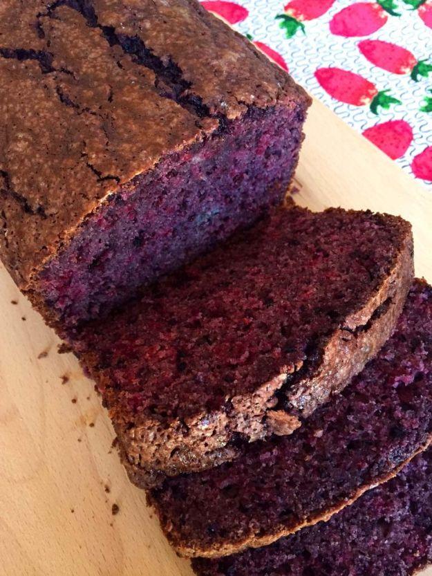 Breakfast Breads - Easy Blackberry Bread Recipe With Fresh Blackberries - Homemade Breakfast Bread Recipes - Healthy Fruit, Nut, Banana and Vegetable Recipe Ideas - Best Brunch Dishes