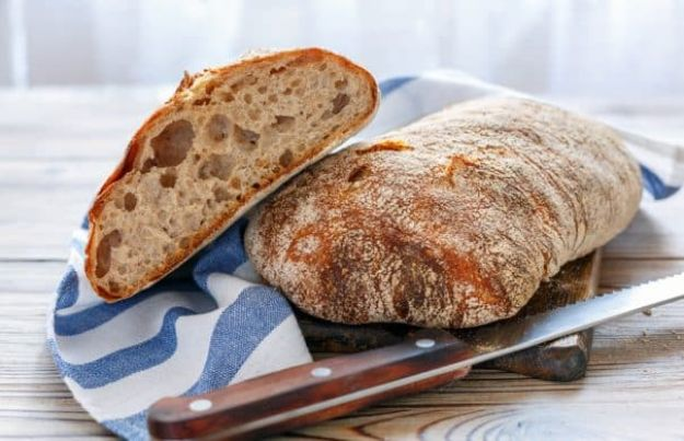 Breakfast Breads - Easy Ciabatta Bread - Homemade Breakfast Bread Recipes - Healthy Fruit, Nut, Banana and Vegetable Recipe Ideas - Best Brunch Dishes