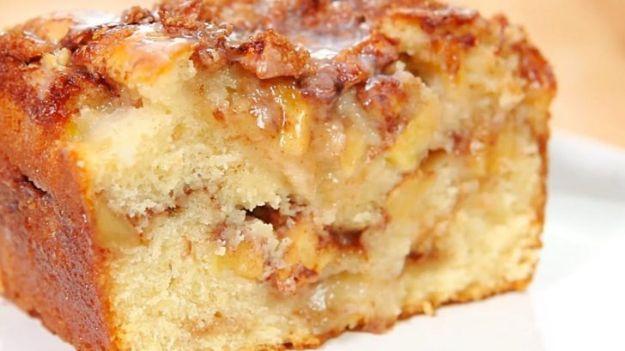 Breakfast Breads - Farmhouse Apple Bread - Homemade Breakfast Bread Recipes - Healthy Fruit, Nut, Banana and Vegetable Recipe Ideas - Best Brunch Dishes