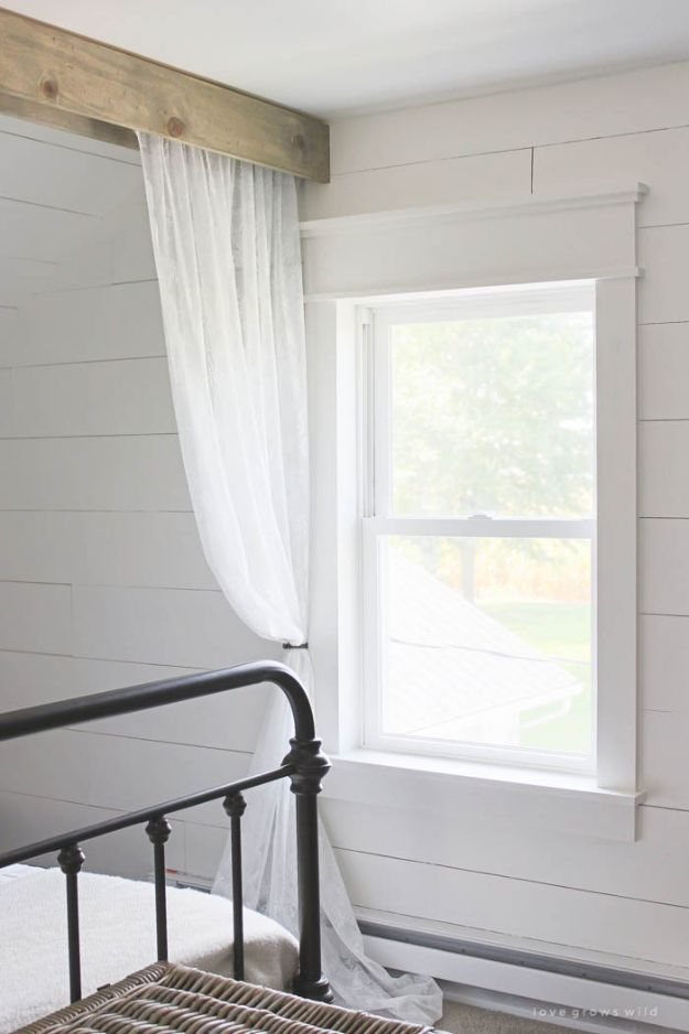 Magnolia Homes Decor Ideas - Farmhouse Window Trim - DIY Decor Inspired by Chip and Joanna Gaines - Fixer Upper Dining Room, Coffee Tables, Light Fixtures for Your House - Do It Yourself Decorating On A Budget With Farmhouse Style Decorations for the Home
