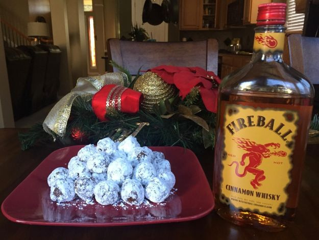 Fireball Whiskey Recipes - Fireball No Bake Cookies - Fire ball Whisky Recipe Ideas - Pie, Desserts, Drinks, Homemade Food and Cocktails - Easy Treats and Christmas Dishes #fireball #recipes #food