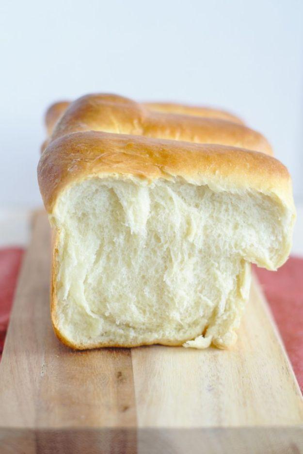 Breakfast Breads - Hokkaido Milk Bread - Homemade Breakfast Bread Recipes - Healthy Fruit, Nut, Banana and Vegetable Recipe Ideas - Best Brunch Dishes