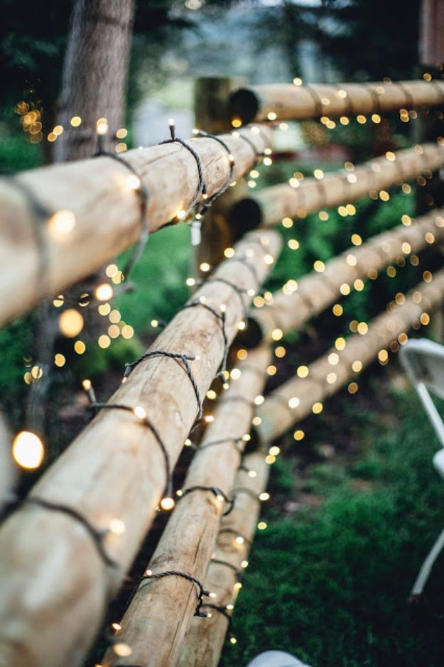 DIY Outdoor Lighting Ideas - Illuminate Your Pathways - Do It Yourself Lighting Ideas for the Backyard, Patio, Porch and Pool - Lights, Chandeliers, Lamps and String Lights for Your Outdoors - Dining Table and Chair Lighting, Overhead, Sconces and Weatherproof Projects #diy #lighting