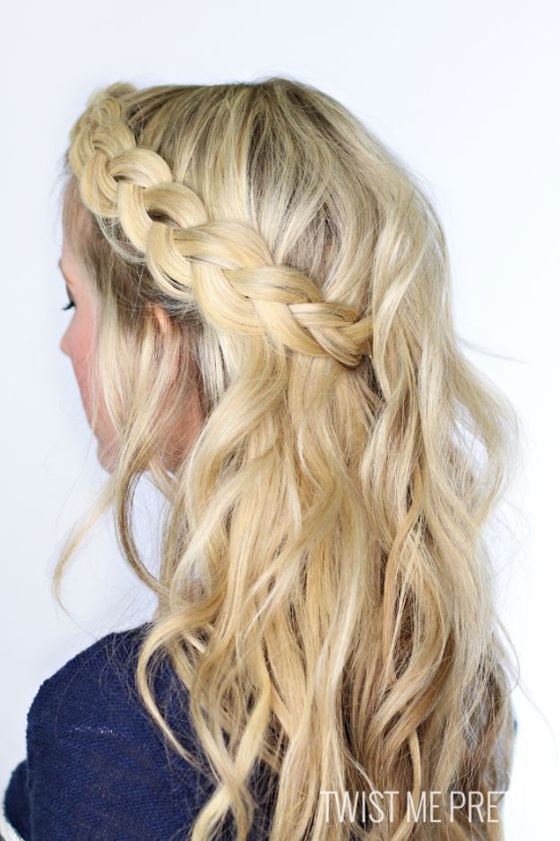 Holiday Hairstyles - Soft Dutch Braid- Cute DIY Hair Styles for Christmas and New Years Eve, Special Occasion - Updos, Braids, Buns, Ponytails, Half Up Half Down Looks #hairstyles
