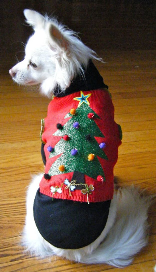 DIY Ugly Christmas Sweaters - Ugly Christmas Sweater Vest - No Sew and Easy Sewing Projects - Ideas for Him and Her to Wear to Holiday Contest or Office Party Outfit - Funny Couples Sweater, Mens Womens and Kids #christmas