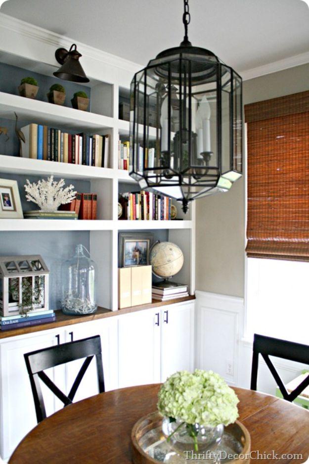DIY Lighting Ideas - Updated 80's Light Fixture - Indoor Lighting for Bedroom, Kitchen, Bathroom and Home - Outdoor Do It Yourself Lighting Ideas for the Backyard, Patio, Porch Lights, Chandeliers #diy