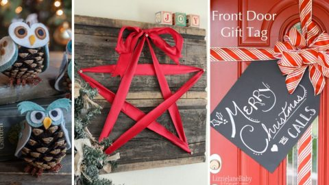 34 DIY Christmas Decorations To Make This Year | DIY Joy Projects and Crafts Ideas