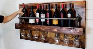 All Wine Lovers Should Have One of These Mini Wine Cellars On The Wall!
