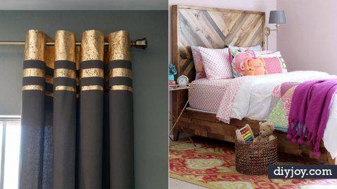 100 DIY Bedroom Decor Ideas | Creative Room Projects ...