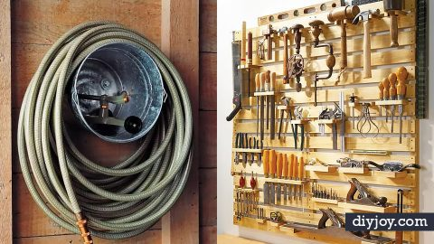 34 Garage Organization Ideas | DIY Joy Projects and Crafts Ideas