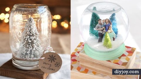 34 DIY Snow Globes You Will Want to Make This Winter | DIY Joy Projects and Crafts Ideas
