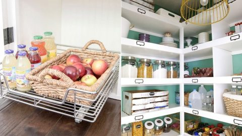34 Pantry Organizing Ideas | DIY Joy Projects and Crafts Ideas