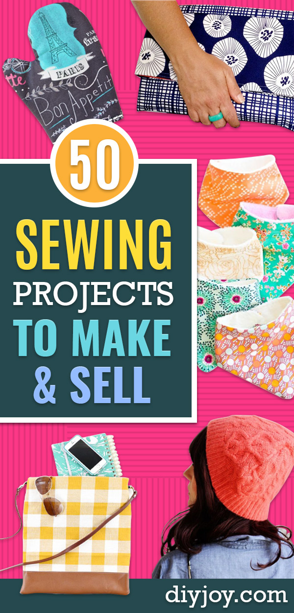 Sewing Projects to Make and Sell - Easy Things to Sew and Sell on Etsy and Online Shops - DIY Sewing Crafts With Free Pattern and Tutorial