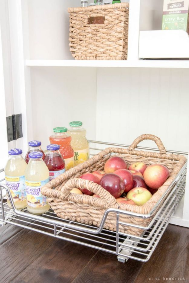 DIY Pantry Organizing Ideas - Create Adjustable Shelves - Easy Organization for the Kitchen Pantry - Cheap Shelving and Storage Jars, Labels, Containers, Baskets to Organize Cans and Food, Spices