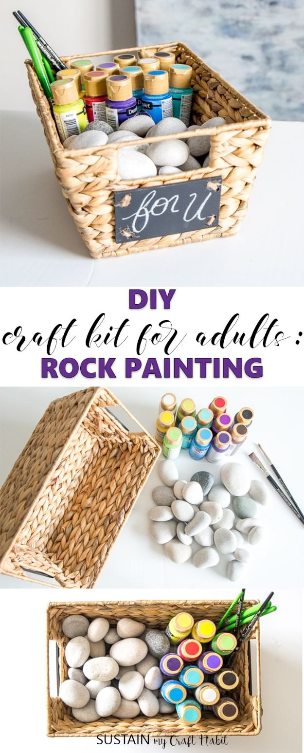 Fun DIY Ideas for Adults - DIY Craft Kit For Adults - Easy Crafts and Gift Ideas , Cool Projects That Are Fun to Make - Crafts Idea for Men and Women