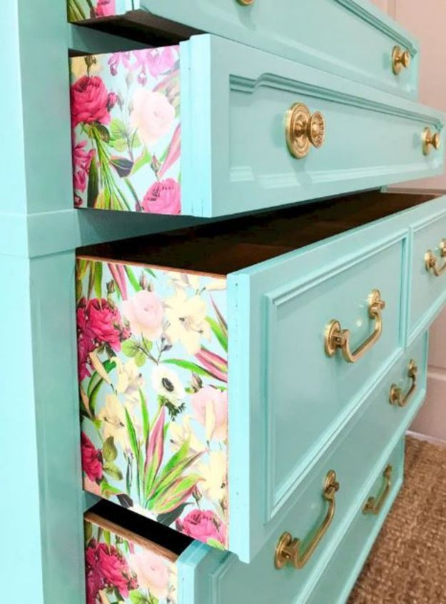 DIY Bedroom Decor Ideas - DIY Dresser Door Upgrade - Easy Room Decor Projects for The Home - Cheap Farmhouse Crafts, Wall Art Idea, Bed and Bedding, Furniture