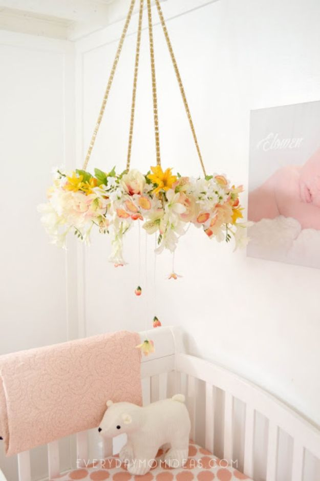 34 DIY Nursery Decor Ideas for Girls