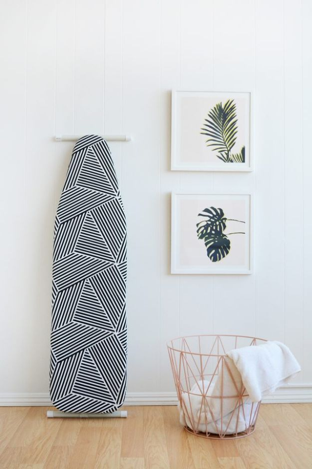 Sewing Projects to Make and Sell for Home Decor - DIY Ironing Board Cover - Easy Things to Sew and Sell on Etsy and Online Shops - DIY Sewing Crafts With Free Pattern and Tutorial