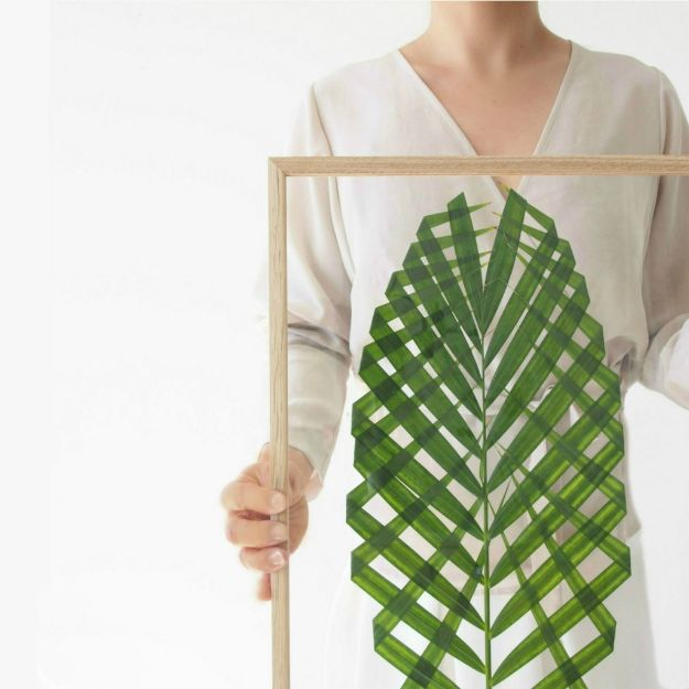 DIY Bedroom Decor Ideas - DIY Leaf Art - Easy Room Decor Projects for The Home - Cheap Farmhouse Crafts, Wall Art Idea, Bed and Bedding, Furniture