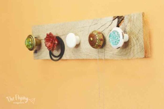 Fun DIY Ideas for Adults - DIY Rustic Jewelry Hanger - Easy Crafts and Gift Ideas , Cool Projects That Are Fun to Make - Crafts Idea for Men and Women