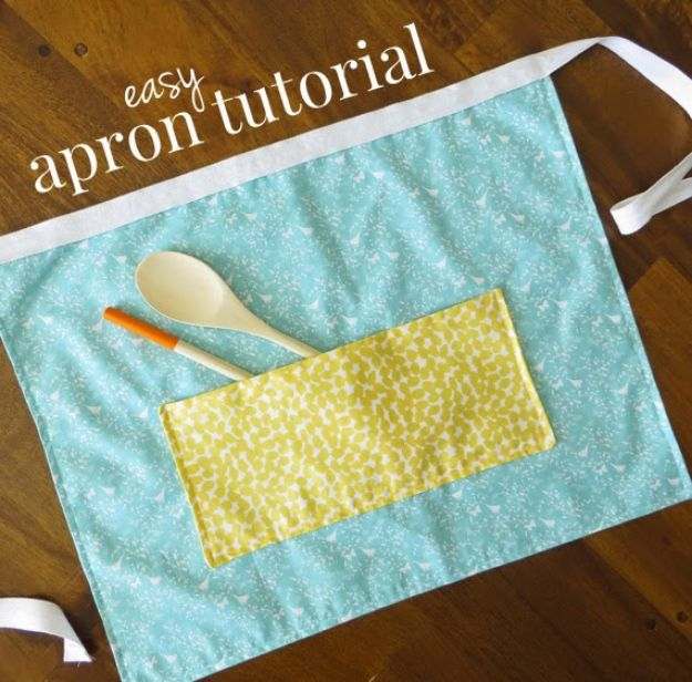Sewing Projects for Fat Quarters - Easy Apron With Fat Quarters - Easy Ideas to Sew With a Fat Quarter - Quick DIY Gifts, Quilt, Placemats, DIY Baby Gift, Project for The Home, Kids, Christmas