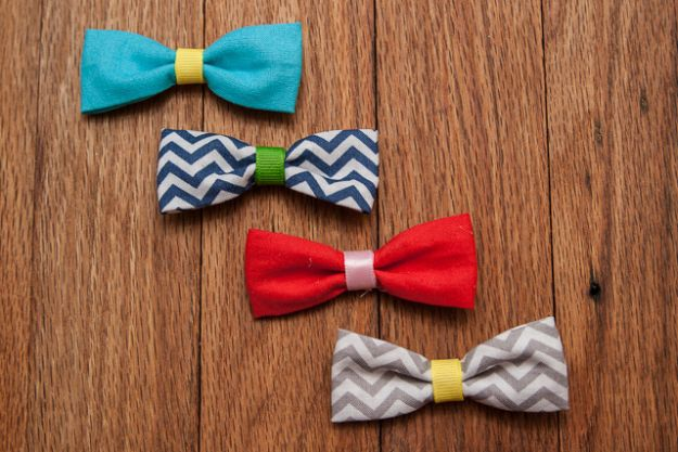 Sewing Projects to Make and Sell - Easy Fabric Bows - Easy Things to Sew and Sell on Etsy and Online Shops - DIY Sewing Crafts With Free Pattern and Tutorial