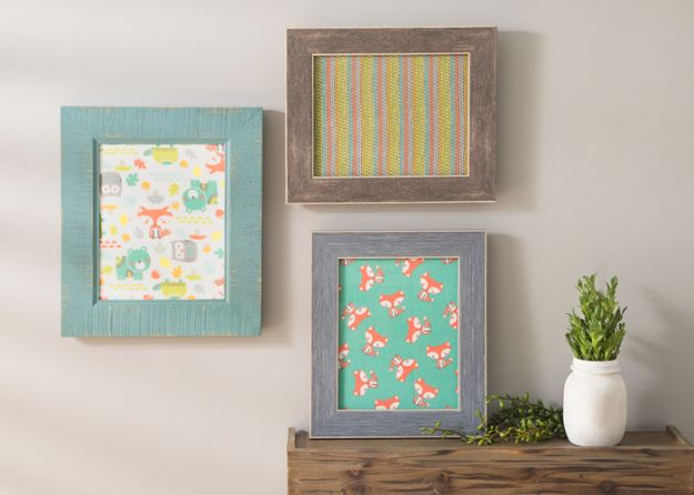 Sewing Projects for Fat Quarters - Framed Fat Quarter Trio - Easy Ideas to Sew With a Fat Quarter - Quick DIY Gifts, Quilt, Placemats, DIY Baby Gift, Project for The Home, Kids, Christmas