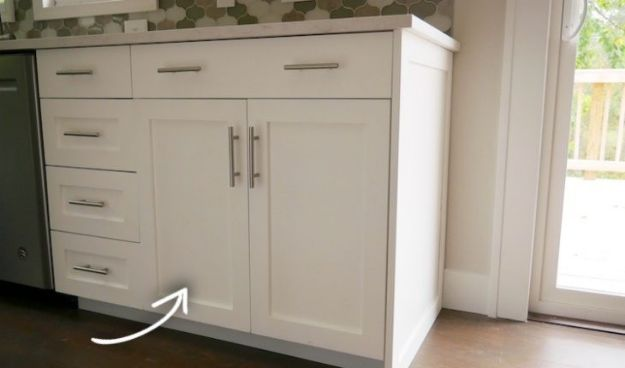 DIY Kitchen Cabinets - Frameless 30in Base Cabinet Carcass - Makeover Ideas for Kitchen Cabinet - Build and Design Kitchen Cabinet Projects on A Budget - Cheap Reface Idea and Tutorial