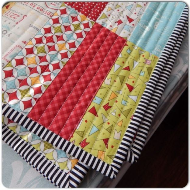 Easy Quilt Ideas for Beginners - Jelly Roll Jam Quilt - Free Quilt Patterns and Simple Projects With Fat Quarters - How to Make Baby Blankets, Table Runners, Jelly Rolls