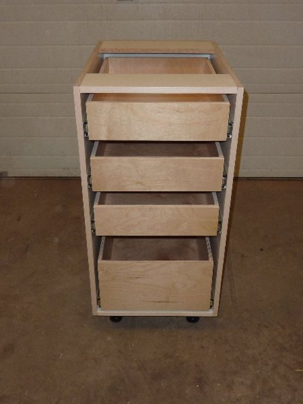 DIY Kitchen Cabinets - Lower Cabinet Drawers - Makeover Ideas for Kitchen Cabinet - Build and Design Kitchen Cabinet Projects on A Budget - Cheap Reface Idea and Tutorial
