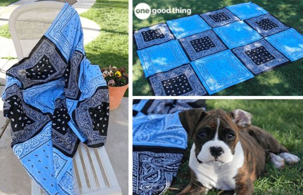 Easy Quilt Ideas for Beginners - Make Your Own Super Versatile Bandana Quilt - Free Quilt Patterns and Simple Projects With Fat Quarters - How to Make Baby Blankets, Table Runners, Jelly Rolls