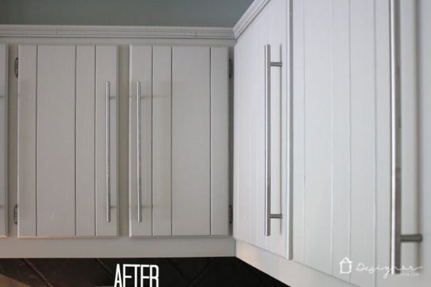DIY Kitchen Cabinets - Painted Kitchen Cabinets - Makeover Ideas for Kitchen Cabinet - Build and Design Kitchen Cabinet Projects on A Budget - Cheap Reface Idea and Tutorial