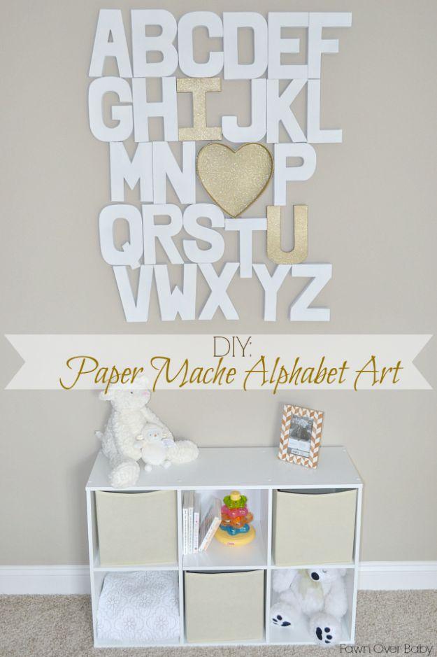 34 Diy Nursery Decor Ideas For Girls