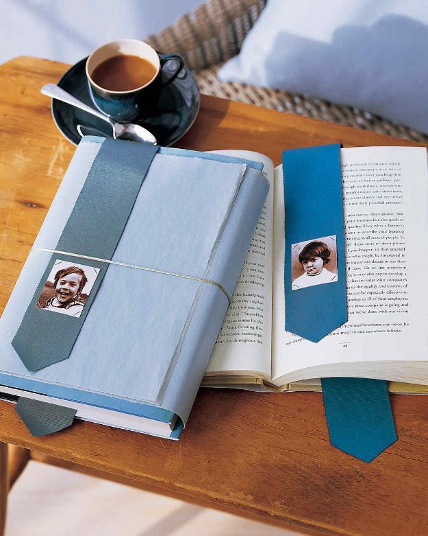 DIY Gifts for Him - Photo Bookmark - Homemade Gift Ideas for Guys - DYI Christmas Gift for Dad, Boyfriend, Husband Brother - Easy and Cheap Handmade Presents Birthday #diy #gifts #diygifts #mensgifts