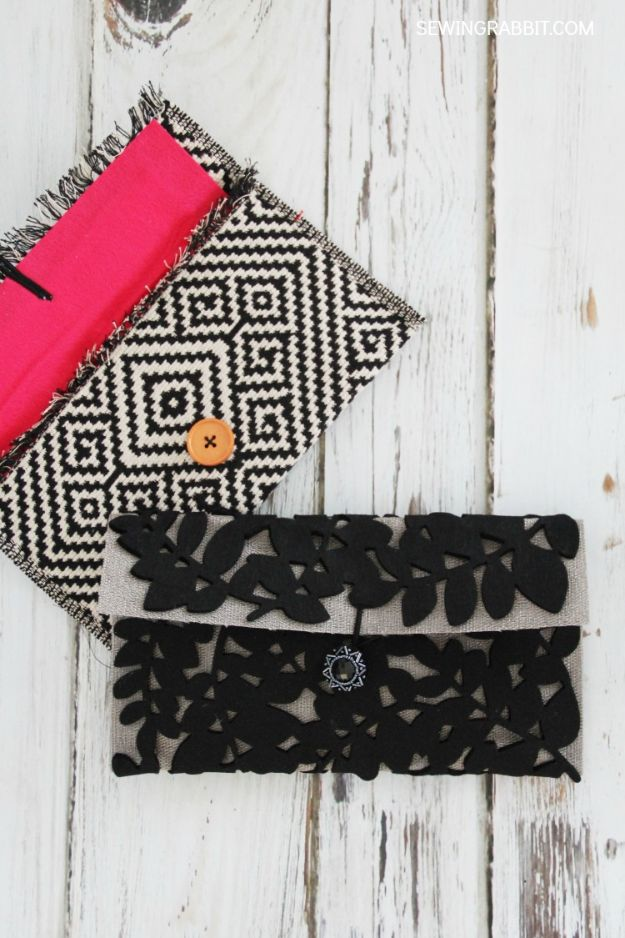 Fun DIY Ideas for Adults - Placemat Clutch - Easy Crafts and Gift Ideas , Cool Projects That Are Fun to Make - Crafts Idea for Men and Women