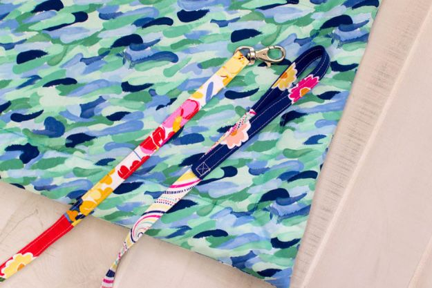 Sewing Projects to Make and Sell - Sew a Narrow Scrappy Dog Leash - Easy Things to Sew and Sell on Etsy and Online Shops - DIY Sewing Crafts With Free Pattern and Tutorial