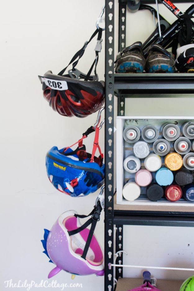 DIY Garage Organization Ideas - Simple Rack Storage - Cheap Ways to Organize Garages on A Budget - Ideas for Storage, Storing Tools, Small Spaces, DYI Shelves, Organizing Hacks