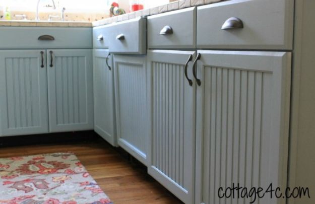 DIY Kitchen Cabinets - Update Your Dishwasher Cabinet - Makeover Ideas for Kitchen Cabinet - Build and Design Kitchen Cabinet Projects on A Budget - Cheap Reface Idea and Tutorial