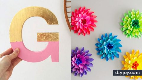 34 DIY Nursery Decor Ideas for Girls | DIY Joy Projects and Crafts Ideas