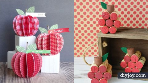 34 Apple Crafts | DIY Joy Projects and Crafts Ideas